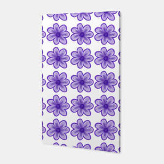 mauve flowers Canvas thumbnail image