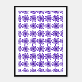 Thumbnail image of mauve flowers Framed poster, Live Heroes