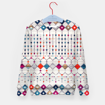 Miniatur Modern Traditional Moroccan Artwork. Kid's sweater, Live Heroes