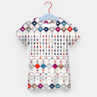 Miniatur Modern Traditional Moroccan Artwork. Kid's t-shirt, Live Heroes