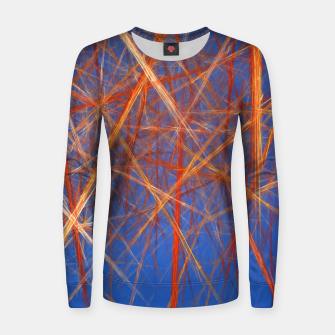 Thumbnail image of Abstract Grid Women sweater, Live Heroes