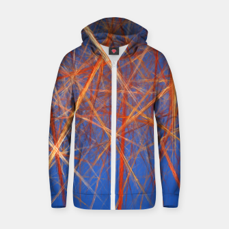Thumbnail image of Abstract Grid Zip up hoodie, Live Heroes