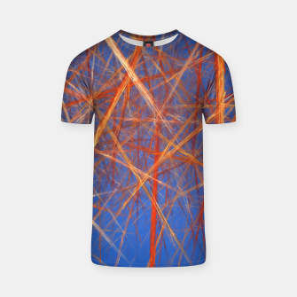 Thumbnail image of Abstract Grid T-shirt, Live Heroes