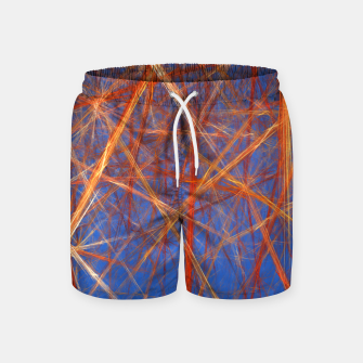 Thumbnail image of Abstract Grid Swim Shorts, Live Heroes