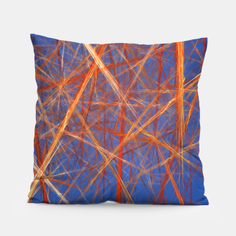 Thumbnail image of Abstract Grid Pillow, Live Heroes