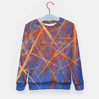 Thumbnail image of Abstract Grid Kid's sweater, Live Heroes
