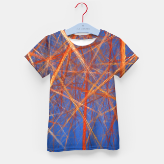 Thumbnail image of Abstract Grid Kid's t-shirt, Live Heroes