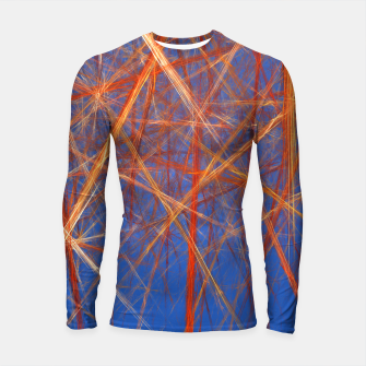Thumbnail image of Abstract Grid Longsleeve rashguard , Live Heroes