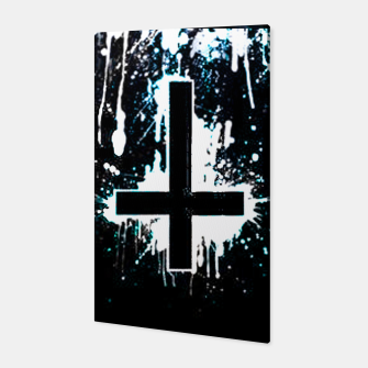 Miniatur  Inverted Cross Canvas, Live Heroes