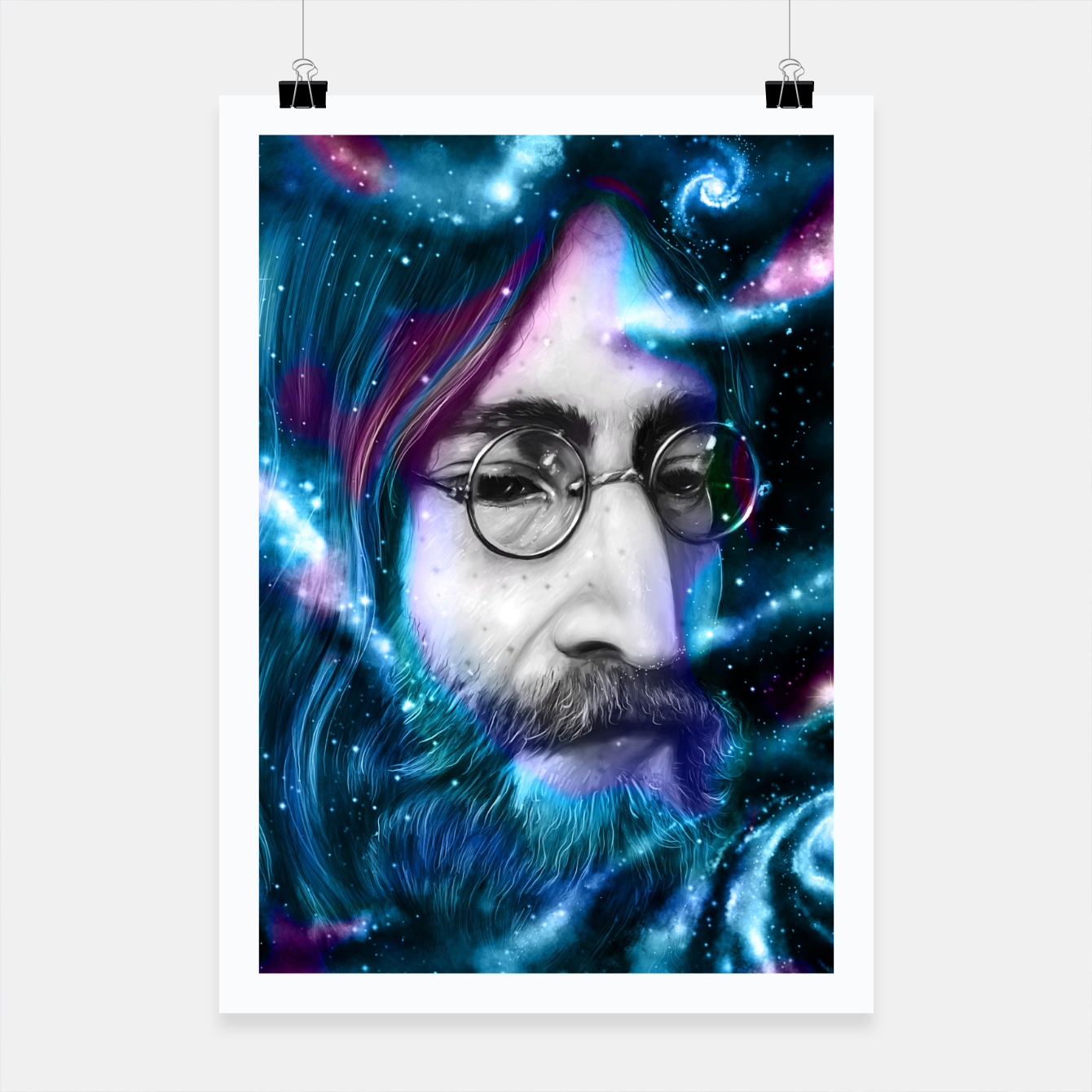 Image of John Poster - Live Heroes