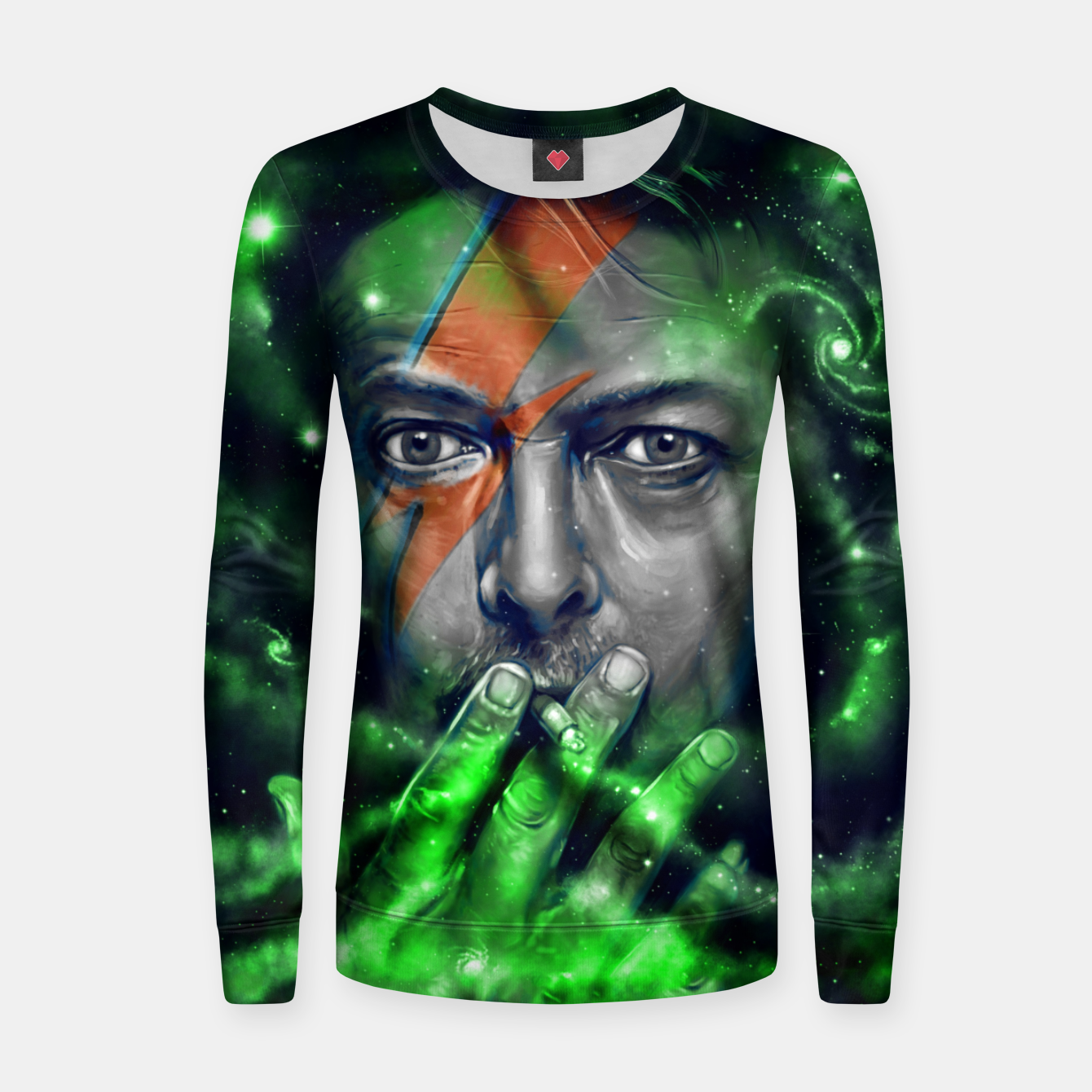 Image of David Women sweater - Live Heroes