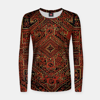 Miniaturka Anatolian carpet design Women sweater, Live Heroes