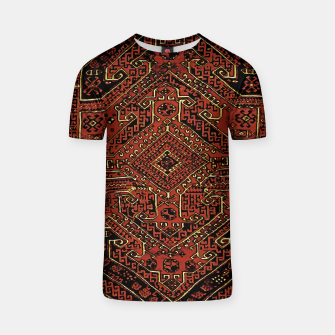 Thumbnail image of Anatolian carpet design T-shirt, Live Heroes