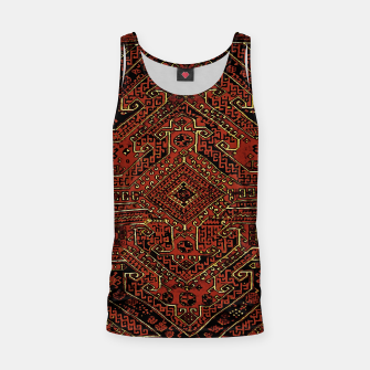 Thumbnail image of Anatolian carpet design Tank Top, Live Heroes