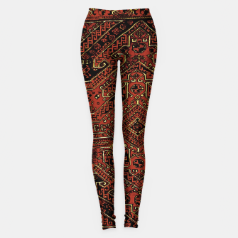 Miniaturka Anatolian carpet design Leggings, Live Heroes