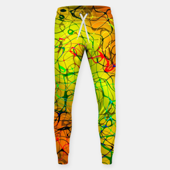 Thumbnail image of Chaos Paint Sweatpants, Live Heroes