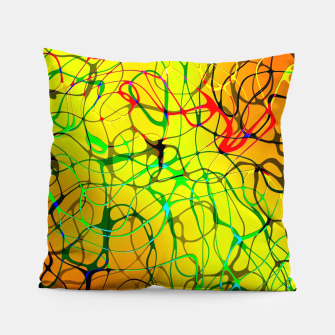 Thumbnail image of Chaos Paint Pillow, Live Heroes