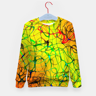 Thumbnail image of Chaos Paint Kid's sweater, Live Heroes