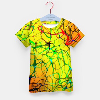 Thumbnail image of Chaos Paint Kid's t-shirt, Live Heroes