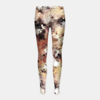 Thumbnail image of The resting moments Girl's leggings, Live Heroes