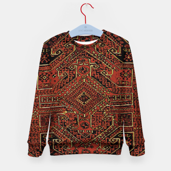 Miniaturka Anatolian carpet design Kid's sweater, Live Heroes