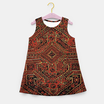 Miniaturka Anatolian carpet design Girl's summer dress, Live Heroes