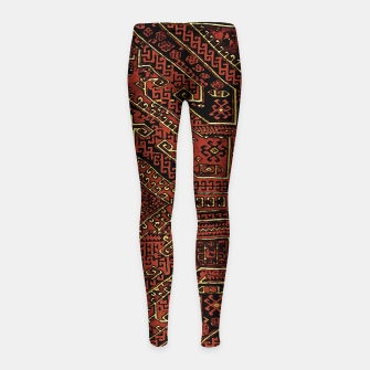 Miniaturka Anatolian carpet design Girl's leggings, Live Heroes