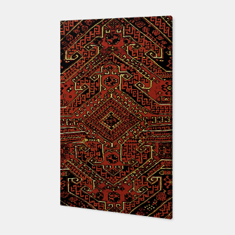 Miniaturka Anatolian carpet design Canvas, Live Heroes