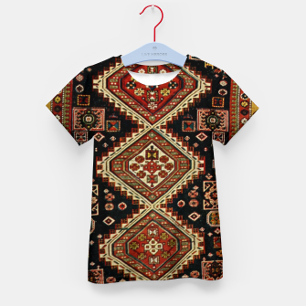 Thumbnail image of Kabristan carpet design Kid's t-shirt, Live Heroes