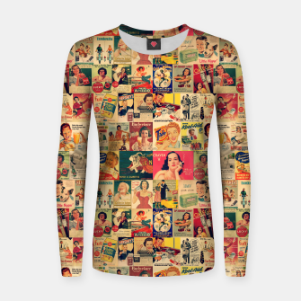 Thumbnail image of Retro Ads Women sweater, Live Heroes