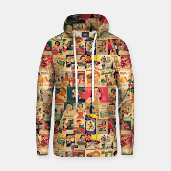 Thumbnail image of Retro Ads Hoodie, Live Heroes
