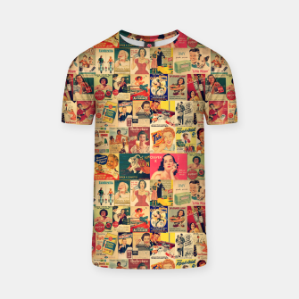 Thumbnail image of Retro Ads T-shirt, Live Heroes