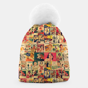 Thumbnail image of Retro Ads Beanie, Live Heroes