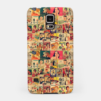 Thumbnail image of Retro Ads Samsung Case, Live Heroes