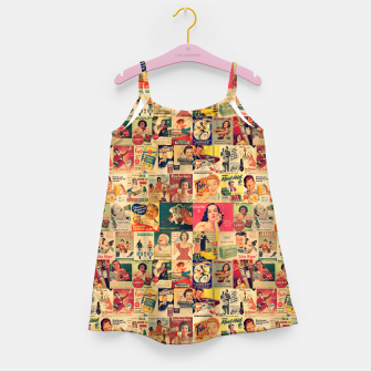 Thumbnail image of Retro Ads Girl's dress, Live Heroes