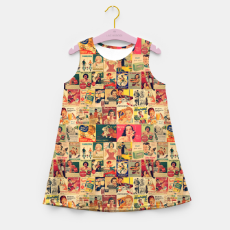 Thumbnail image of Retro Ads Girl's summer dress, Live Heroes
