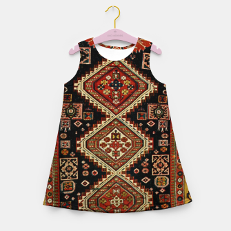 Miniaturka Kabristan carpet design Girl's summer dress, Live Heroes