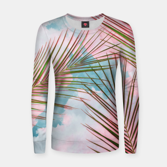 Thumbnail image of Palms + Sky Women sweater, Live Heroes