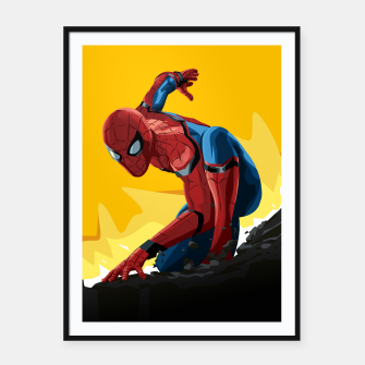 Thumbnail image of Spider-Man Homecoming Framed poster, Live Heroes
