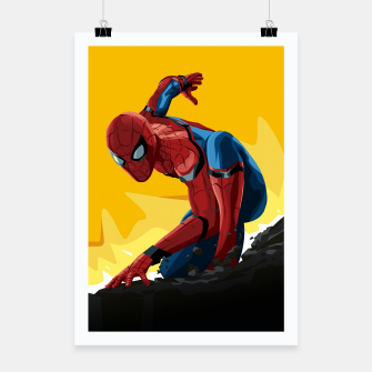 Thumbnail image of Spider-Man Homecoming Poster, Live Heroes