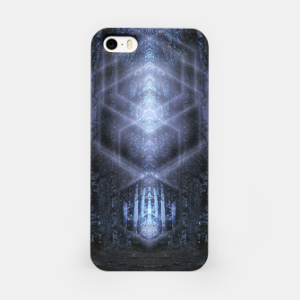 Miniatur Crystalline matrix iPhone Case, Live Heroes