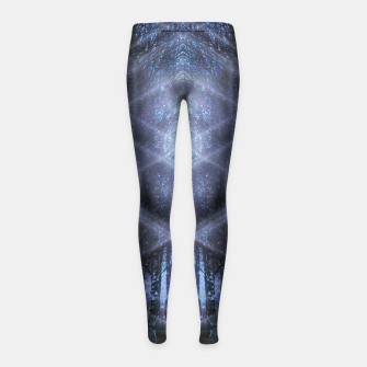 Miniatur Crystalline matrix Girl's leggings, Live Heroes