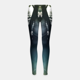Miniatur Open Girl's leggings, Live Heroes