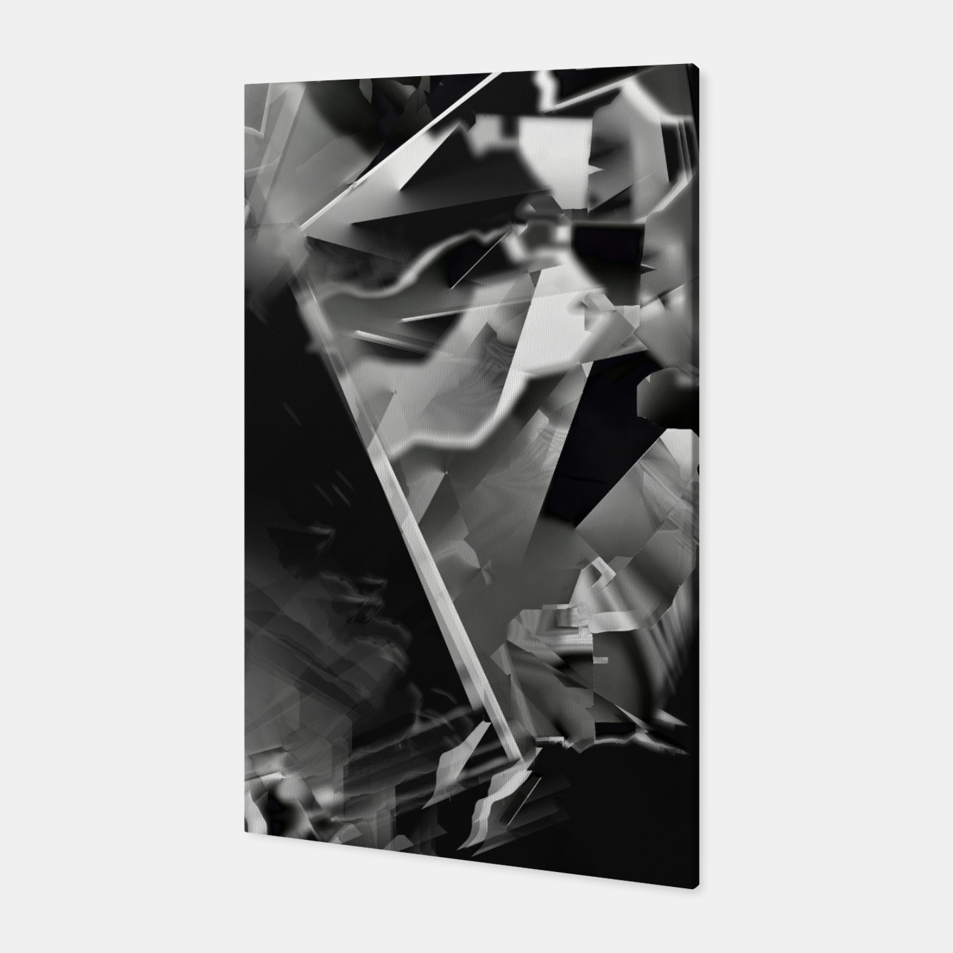 Image of Silver glass Canvas - Live Heroes