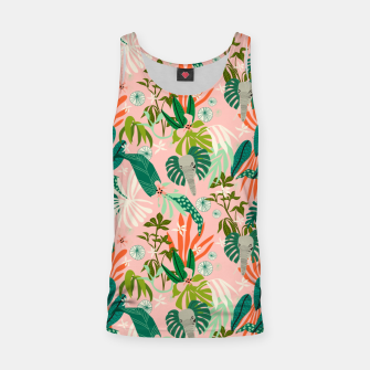Elephants in the pink jungle 2 Camiseta de tirantes thumbnail image