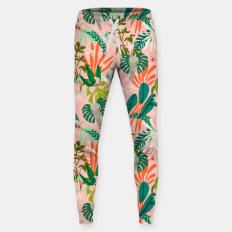 Thumbnail image of Elephants in the pink jungle 2 Pantalones de chándal , Live Heroes