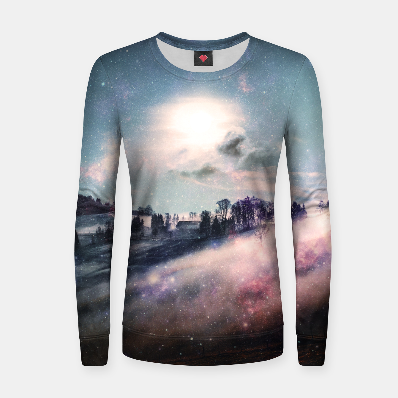 Image of Worlds Ago Women sweater - Live Heroes