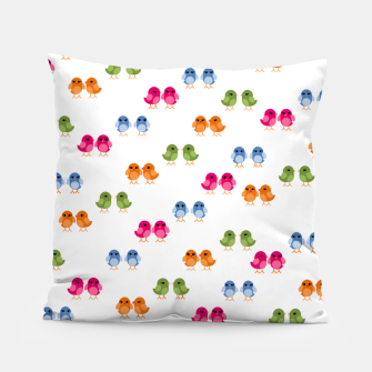 Thumbnail image of Love Birds Pillow, Live Heroes