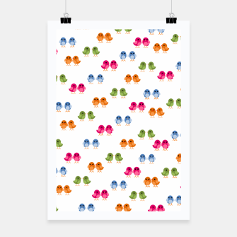 Thumbnail image of Love Birds Poster, Live Heroes