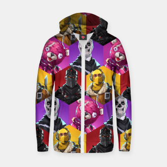 Thumbnail image of FRTNT Zip up hoodie, Live Heroes